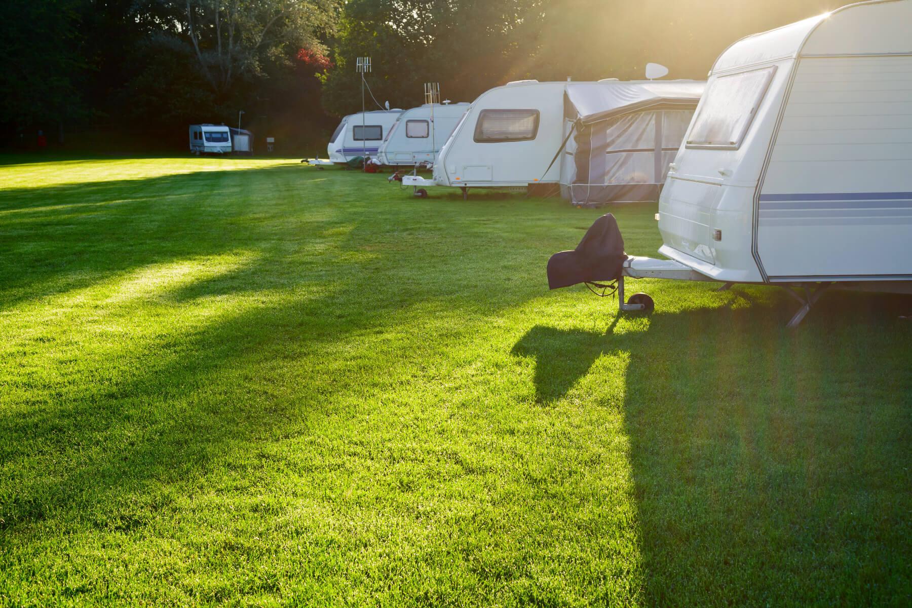 Highfield Campervan Pitches - Oban - Scotland