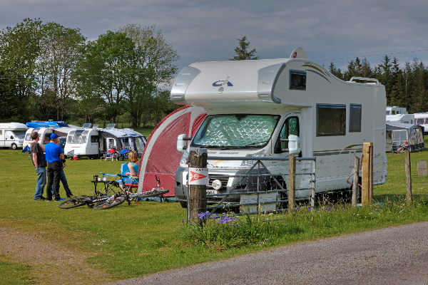 Touring Motorhome Pitches - Benderloch by Oban - Scotland