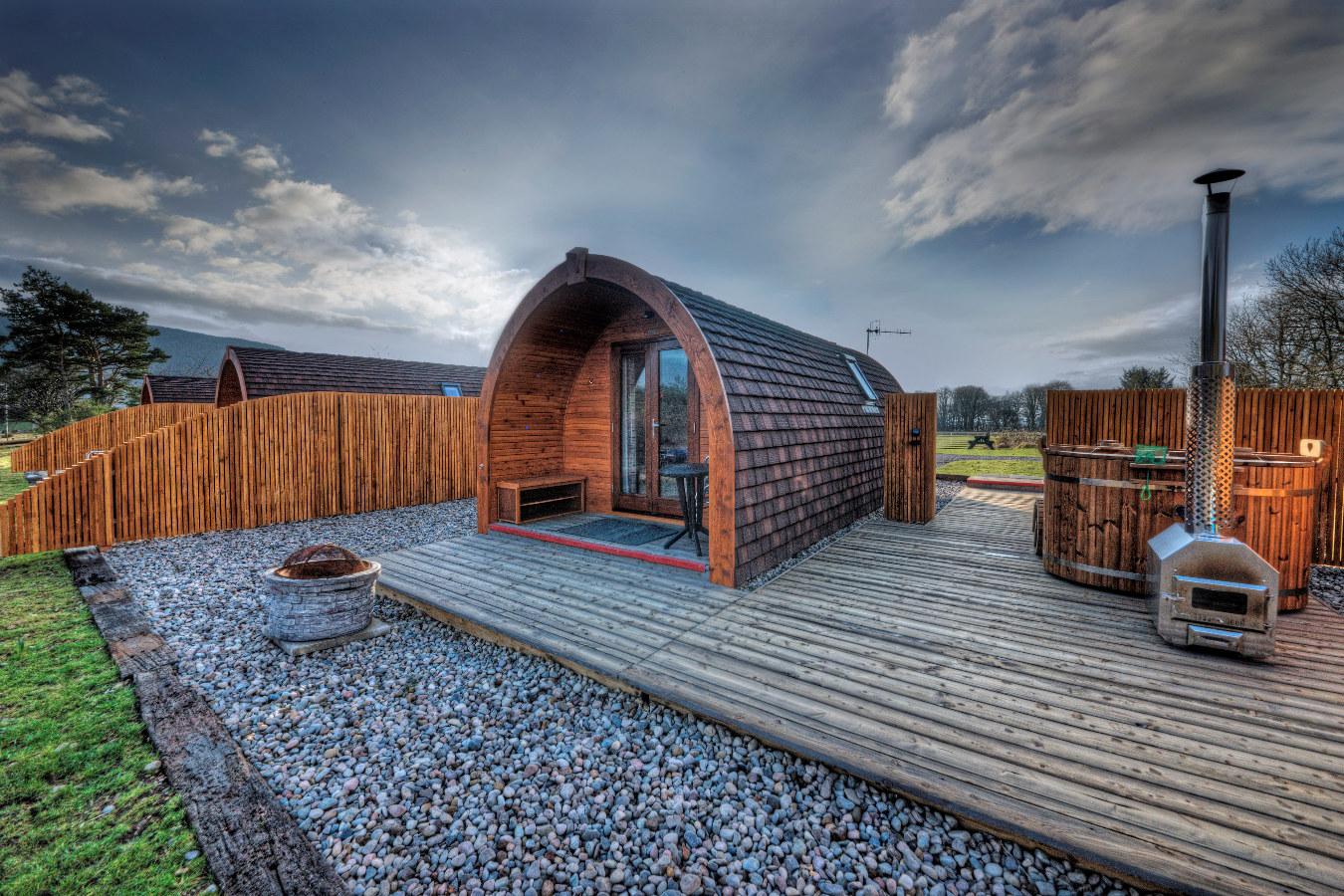 Highfield Holidays - Glamping pods - Argyll - Scotland